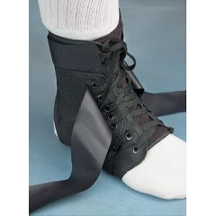 North Coast Medical Lightweight Laced Ankle Brace