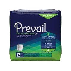 Prevail - First Quality Prevail Extra Absorbent Protective Underwear - Bariatric