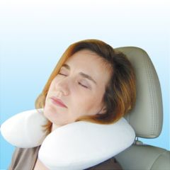 Visco Memory Foam U-Shaped Memory Foam Travel Pillow