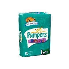 Pampers Baby Dry Diapers - Heavy Absorbency