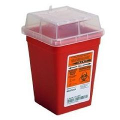 Medical Action Sharps Containers - 1 Quart, Stackable