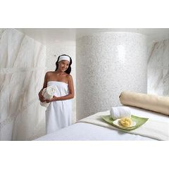 "Women's Velour Wrap White, 32"" Length OSFM"