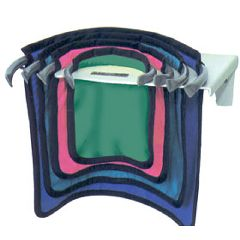"AliMed Spring Ring Apron Set Replacment Spring Ring Apron, Sm., 12""W x 10""L, Green"