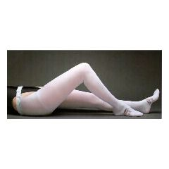 T.E.D. Thigh Length Anti-embolism Stockings with Belt - Latex Free