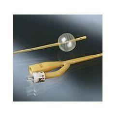 Bardex Lubricath Latex Pediatric Catheter - 2-Way, 3cc