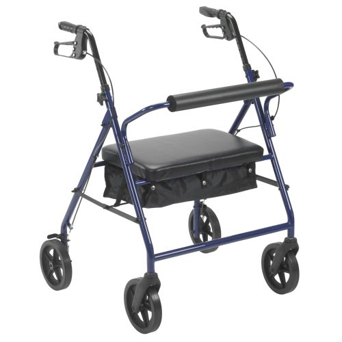 """Drive Bariatric Rollator with 8"""" Wheels"""