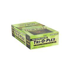 Chef Jay Tri-O-Plex High Protein Food Bar, Caramel Apple - 12 - 4.2 oz (118 g) bars