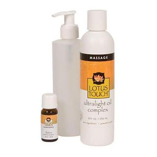 Lotus Touch Detox Massage Oil Package Model 246 0284