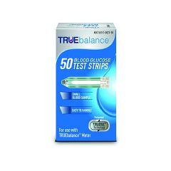 TRUEbalance Blood Glucose Test Strips