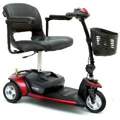 Pride Mobility Go-Go Elite Traveller 3 Wheel Mobility Scooter