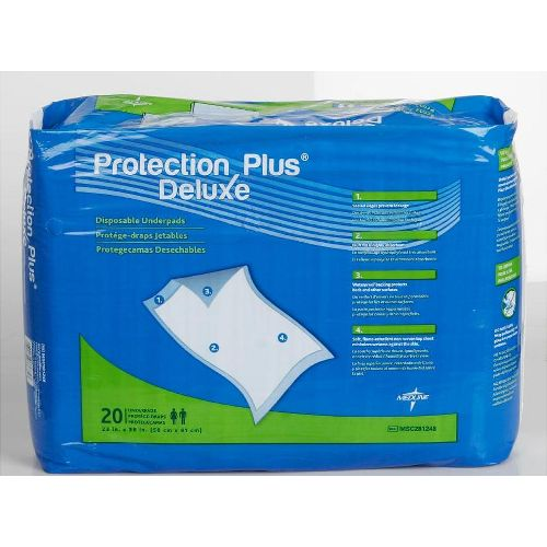 Protection Plus - Deluxe Disposable Underpads