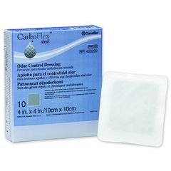"CarboFlex Odor Control Hydrocolloid Alginate Dressing - 3"" x 6"""