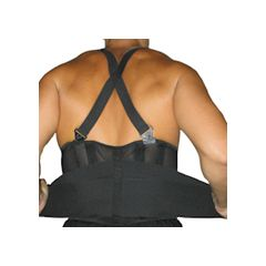 Captain Sports Back Support with Shoulder Straps