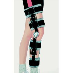 AliMed Adjustable Post-Operative Pin Knee Brace