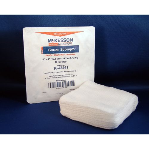 Medi-Pak Plus Medi-Pak Sterile Performance Plus Gauze Sponge