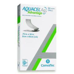 AQUACEL® Ag Advantage Ribbon Enhanced Hydrofiber Dressing with Silver