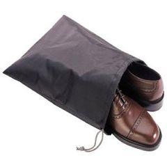 Deluxe Comfort Nylon Travel Shoe Bag - Grey