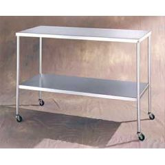AliMed UMF Instrument Tables with Lower Shelf
