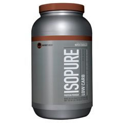 Isopure Chocolate, Low Carb, 3 lb Powder