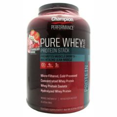 Champion Nutrition Pure Whey Plus - Strawberry Sundae