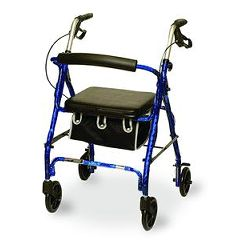 Invacare Supply Group Jr Rollator Blue
