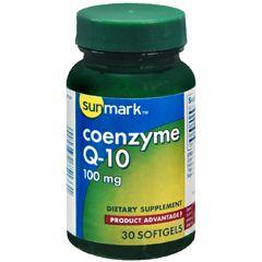 Sunmark Coenzyme Q-10 Dietary Supplement