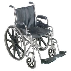 "Briggs DMI 18"" Wheelchair with Removable Desk Arms"