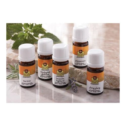 Lotus Touch Single Note Essential Oil Trial Package Model 246 0174