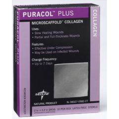 Puracol Plus Wound Dressing with Microscaffold Collagen
