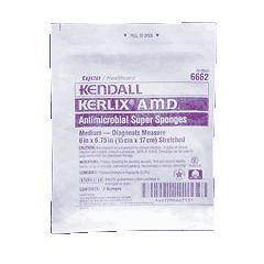 "KERLIX AMD Medium Super Sponges - 6 x 6.75"", Sterile 2's"