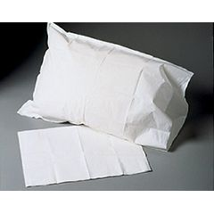 McKesson Tissue/Poly Standard Disposable Pillowcase