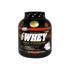 ON 100% Whey Gold, Instantized, Delicious Strawberry - 5 lbs