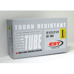 """New Solutions 12.5"""" x 2.25"""" Thorn Resistant Tube Schrader Valve Pair"""