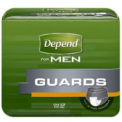Depend Guards For Men Maximum Absorbency 12""