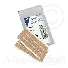 "Steri-Strip 3M Steri-Strip Blend Tone Skin Closures (Non-reinforced) - 1/2"" x 4"" - 6 strip envelope"