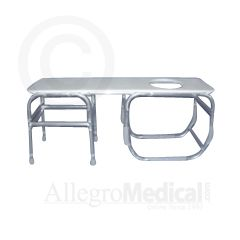 ConvaQuip Bariatric Tub Transfer Bench - 850 lb. Capacity