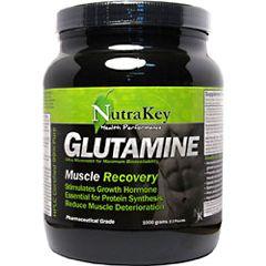 Nutrakey L-Glutamine Amino Acid Supplement 1000g