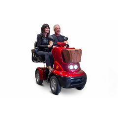 EW-88 Premium 4 Wheel 2 Passenger Heavy Mobility Scooter