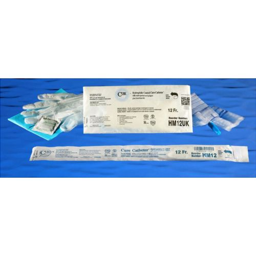 Cure Medical Cure Hydrophilic Intermittent Catheter Kit | Male