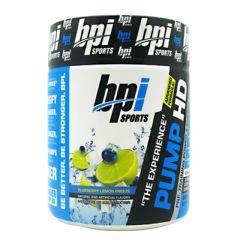 BPI Pump HD - Blueberry Lemon Freeze