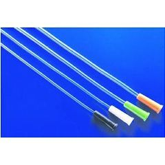 FloCath® Hydrophilic Straight Tip Intermittent Catheters, 16""