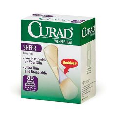 CURAD Sheer Adhesive Strips