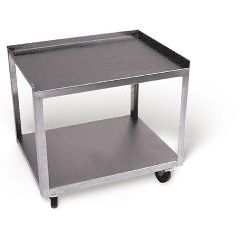 Ideal Medical Products Stainless Steel Cart With 2 Shelves - Model Mc221
