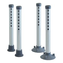"""Lumex 4"""" leg extensions for the Commode Transfer Tub Bench"""