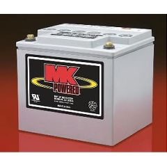 MK 12 Volt - 40 AMP Heavy Duty Gel Battery