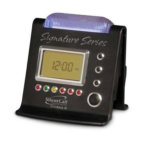 Silent Call Communications Silent Call Signature Series Sidekick II Strobe Clock Receiver Model 141 572243 00