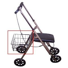 Drive Economy Knee Walker Carry Basket