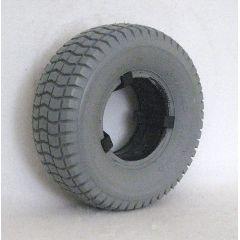 """New Solutions Standard Foam Filled Tire 9 X 3.5-4 ( 8 1/2 X 3 1/2"""")"""