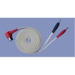 "120"" Right Angle Red DIN 3 Pin Lead Wire"