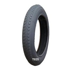 "New Solutions Gray Pneumatic Street Tire - 12 1/2"" x 2 1/4"" (57-203mm)"